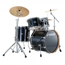Batteria ESF 11 Studio Piano Black  Sonor