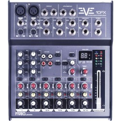 EVE 10FX mixer FiveO by Montarbo