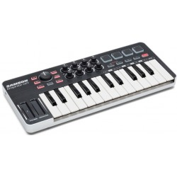 GRAPHITE M25 Mini MIDI Controller USB Samson
