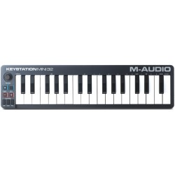 Keystation 32 Mini Master Keyboard MIDI USB M-Audio