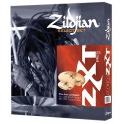 Zildjian Pack ZXT Effects (ZXTS2P) 18 Total China - 10 Flash Splash