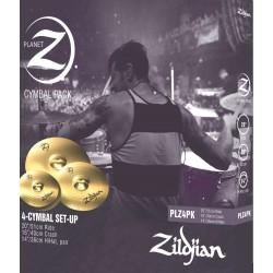 Zildjian Pack 4 Planet Z (PLZ4PK) 20 ride - 14 hi-hat - 16 crash
