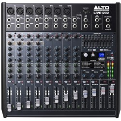 LIVE 1202 mixer audio Alto Professional