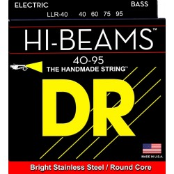 DR Strings LLR-40 Hi Beams muta per basso