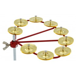 LP192 Cyclops Jingle Ring Brass Latin Percussion