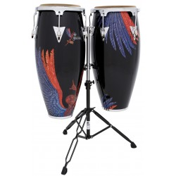 LPA625-SNB Aspire Santana Abraxas congas set Latin Percussion