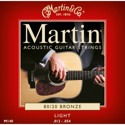 M140 muta per chitarra acustica light Martin & Co