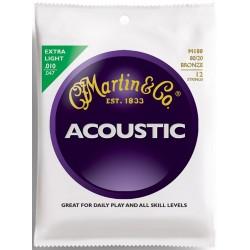 M180 muta per chitarra acustica 12 corde extra light Martin & Co
