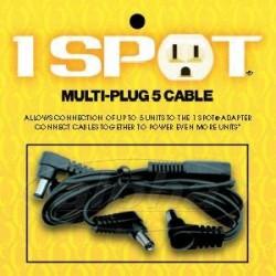 Visual Sound MC5 multi-plug 5 cavi