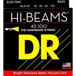 DR Strings MLR-45 Hi-Beams muta basso 4 corde