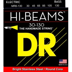 MR6-130 Hi-Beams per basso 6 corde DR-Strings