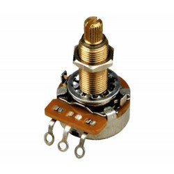 PPAT-500 Gibson 500k Ohm Audio Taper Potentiometer Long Shaft