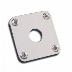 PRJP-040 Gibson Metal Jack Plates Nickel