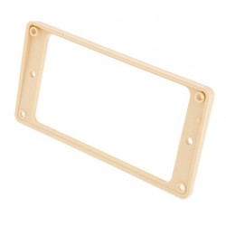 PRPR-015 Gibson Neck Pickup Mounting Ring Creme Plastic