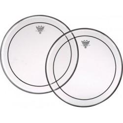 Remo PS-0316-00 pinstripe pelle trasparente