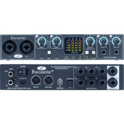 SAFFIRE PRO 24DSP interfaccia audio Firewire Focusrite