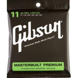 SAG-MB11 Masterbuilt Premium Phosphor Acoustic Bronze Gibson