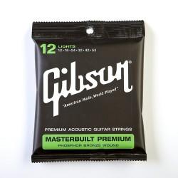 SAG-MB12 Masterbuilt Premium Phosphor Acoustic Bronze Gibson