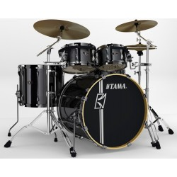 SK52HXZB5S-BCB shell kit Hyper-Drive Brushed Charcoal Black Tama