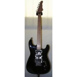 Spyder black chitarra elettrica Raj