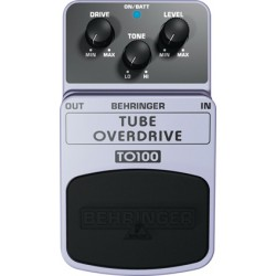 TO100 tube overdrive effetto a pedale Behringer