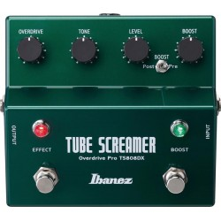 TS808DX Tube Screamer Overdrive + Booster Ibanez