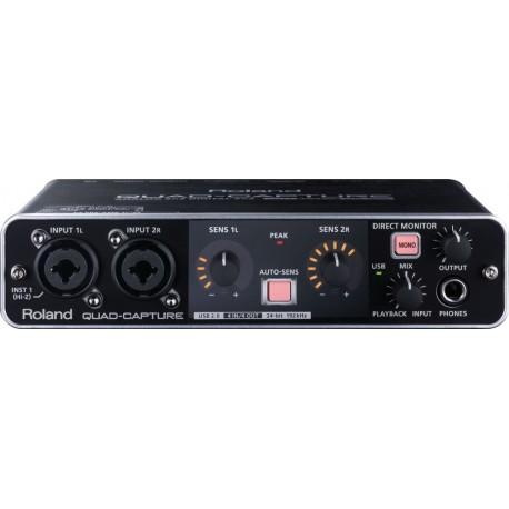 UA-55 QUAD-CAPTURE Interfaccia audio USB 2.0 Roland