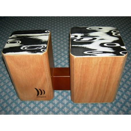 WBM100 bongos legno montabili Schlagwerk