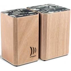 Schlagwerk WBS 200 set bongos legno