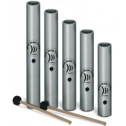 WT 5 set Wah-Wah Tube 5 pezzi con mallet Schlagwerk