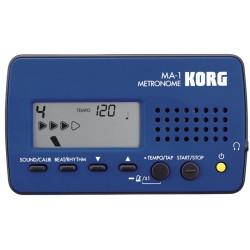 MA-1 Blue Black accordatore digitale - metronomo Korg