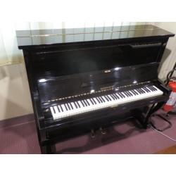 B150 pianoforte verticale nero lucido usato Gershwin