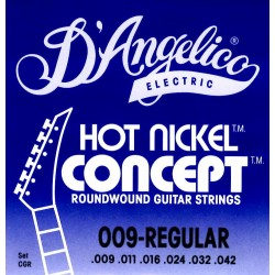 D'Angelico muta per chitarra elettrica CGR