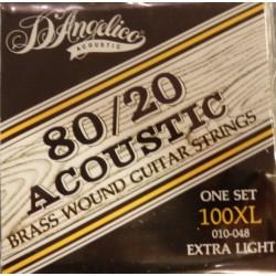 D'Angelico muta per chitarra acustica 100XL