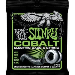 2736 Cobalt 5-String Slinky Bass 5 corde Ernie Ball