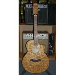 AEW4012AS-NT chitarra acustica elettrificata 12 corde Ibanez