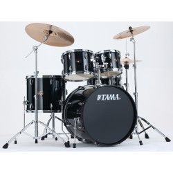 IP52KH6-HBK batteria completa finitura Hairline Black Tama