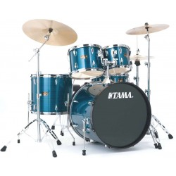 IP52KH6-HLB batteria completa finitura Hairline Blue Tama