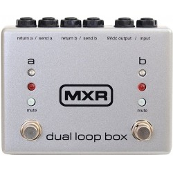 MXR M198 Dual Loop Box Dunlop
