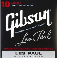 Gibson SEG-LP10 Nickel Plated Electric Guitar Strings