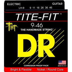LH-9 Tite-Fit per chitarra elettrica DR Strings