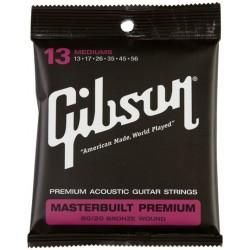 SAG-BRS-13 Gibson Masterbuilt Premium 80-20 Brass Acoustic Guitar