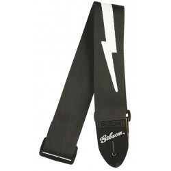ASGSBL-10 Lighting Bolt Style 2 Safety Strap Gibson
