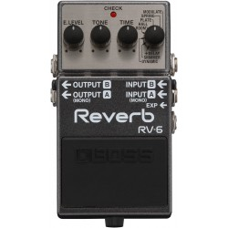 Boss RV6 Reverb pedale riverbero
