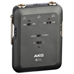 B23L Alimentatore phantom 9V, 2 canali per microfoni connettore mini XLR AKG