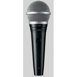 PGA48 microfono dinamico cardioide con interruttore Shure