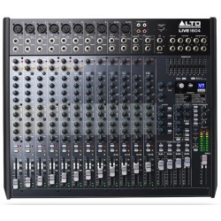 LIVE 1604 mixer audio Alto Professional