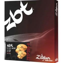 Zildjian Pack 5 ZBT Pro 390 (ZBTP390-A): ride + hi-hat + 2 crash