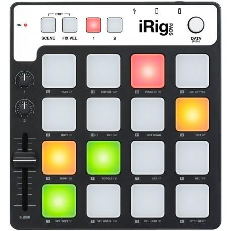 iRig Pads Groove controller per sistemi iOS, PC e MAC IK Multimedia