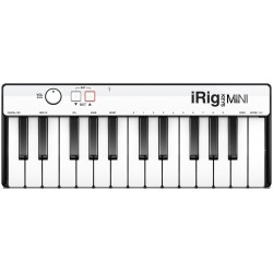 iRig Keys MINI Mini master keyboard a 25 tasti IK Multimedia